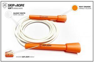 SKIPnROPE 10FT Skipping Rope Orange