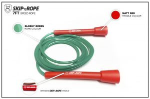 SKIPnROPE 7FT Skipping Rope Red
