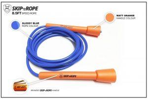 SKIPnROPE 8.5FT Skipping Rope Orange