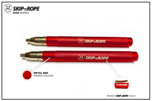SKIPnROPE Wire Rope Red